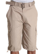 Men - Beyond the Limit Cargo Shorts with Belt