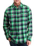 Hurley - Apollo L/S Flannel Button-down