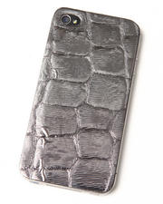 Accessories - Pewter Premium Leather Iphone Sticker