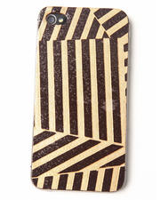 Last Season's Deals - Gold Deco Premium Leather Iphone Sticker-1693369