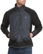 Psyberia - Nomadic Wolf Zip-Up Fleece-1172223