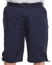 Basic Essentials - Cargo Shorts with Belt (B&T)-1761091
