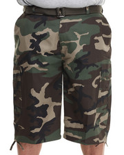 Basic Essentials - Camo Cargo Shorts (B&T)-1761103