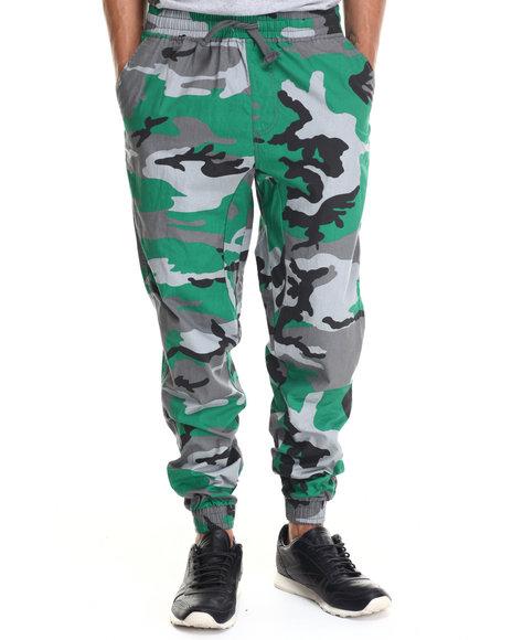 Buyers Picks - Twill Fashion Camo Jogger pants
