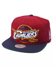 Mitchell & Ness - Cleveland Cavaliers XL Logo 2 Tone Snapback Hat-1874542