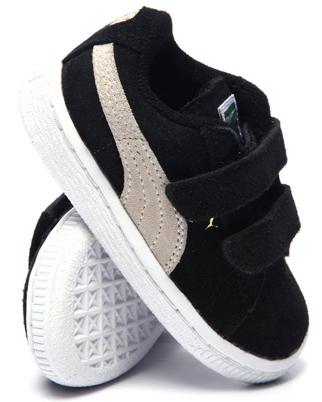 Puma - SUEDE 2 STRAPS KIDS SNEAKERS (5-10)