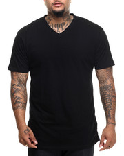 Basic Essentials - V - Neck S/S Tee (B&T)-1886284