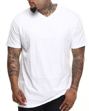 Basic Essentials - V - Neck S/S Tee (B&T)-1886271