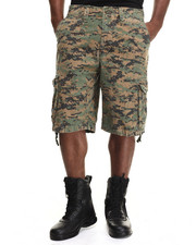 The Fourth Shop - Rothco Vintage Camo Infantry Utility Shorts-1891556