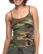 DRJ Army/Navy Shop - Rothco Woodland Camo Tank Top-1891589