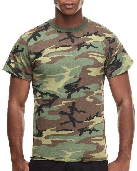 DRJ Army/Navy Shop - Rothco Camo T-Shirts