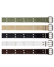Rothco - Rothco Vintage Double Prong Buckle Belt-1891668