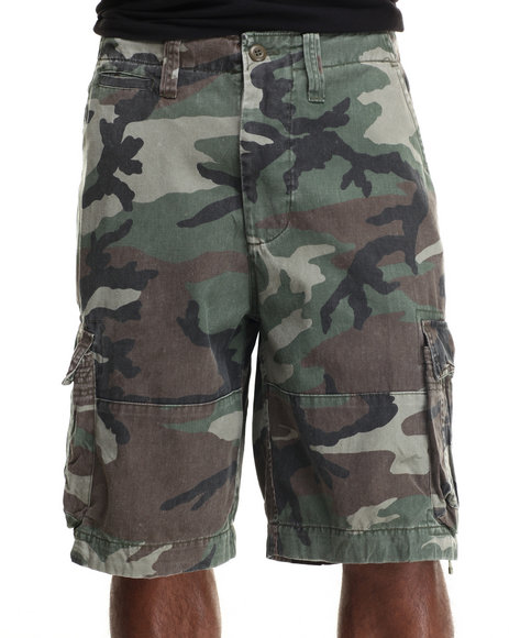 DRJ Army/Navy Shop - Rothco Vintage Camo Infantry Utility Shorts