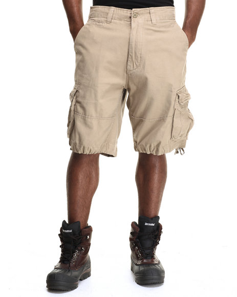 DRJ Army/Navy Shop - Rothco Solid Vintage Infantry Utility Shorts