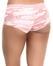 DRJ Army/Navy Shop - Rothco Baby Pink Camo 'Booty Camp' Booty Shorts-1891603