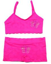 Underwear & Sleepwear - Teen Bling Butterfly Seamless Bra Short/Set