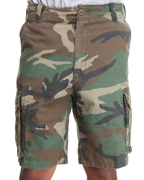 Rothco - Rothco Vintage Camo Paratrooper Cargo Shorts