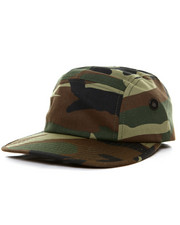 DRJ Army/Navy Shop - Rothco 5 Panel Military Street Cap Woodland Camo