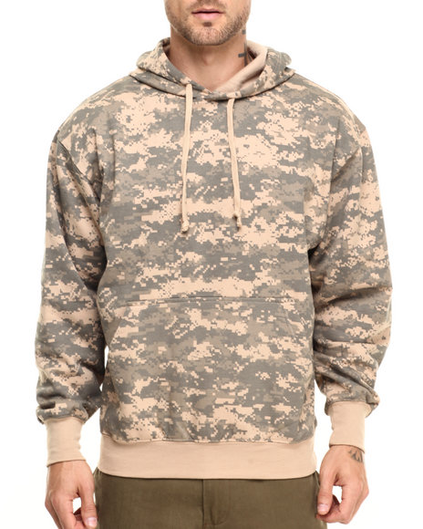 Buy Rothco Camo Pullover Hooded Sweatshirt Men's Hoodies from ...