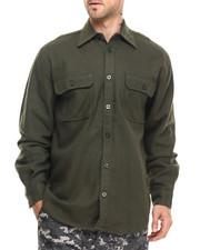 Rothco - Rothco Heavy Weight Solid Flannel Shirt-1932041