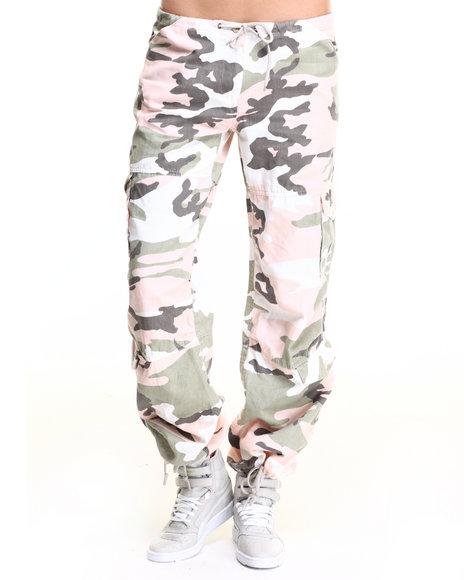 Rothco - Rothco Womens Camo Vintage Paratrooper Fatigue Pants