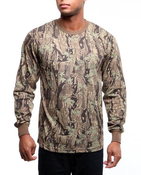 Rothco - Rothco Long Sleeve Camo T-Shirt