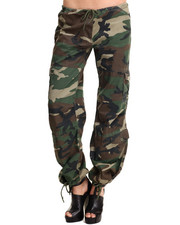 DRJ Army/Navy Shop - Rothco Womens Camo Vintage Paratrooper Fatigue Pants