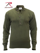 DRJ Army/Navy Shop - Rothco G.I. Style 5-Button Sweater-1946574
