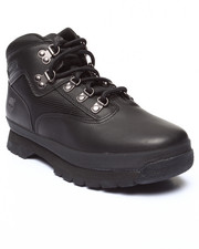 Boots - EURO HIKER MID LEATHER & FABRIC BOOTS (3.5-7)