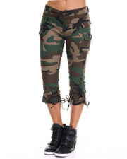 DRJ Army/Navy Shop - Rothco Womens Camo Capri Pants-1946676