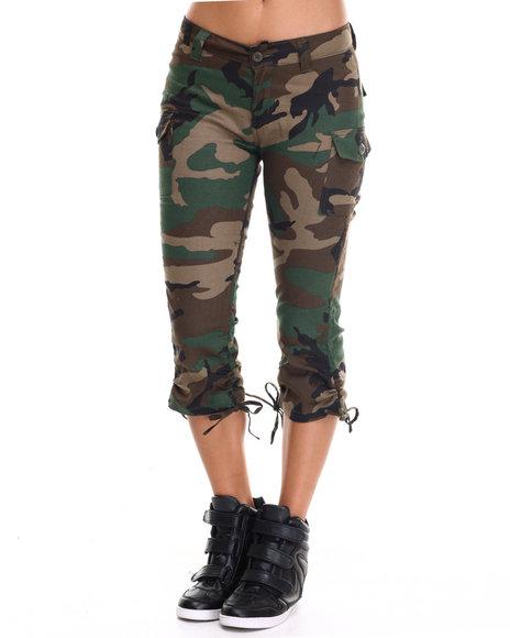 Rothco - Rothco Womens Camo Capri Pants