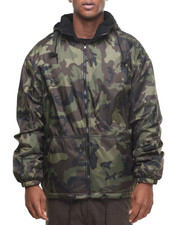 DRJ Army/Navy Shop - Rothco Reversible Lined Jacket With Hood-1946746