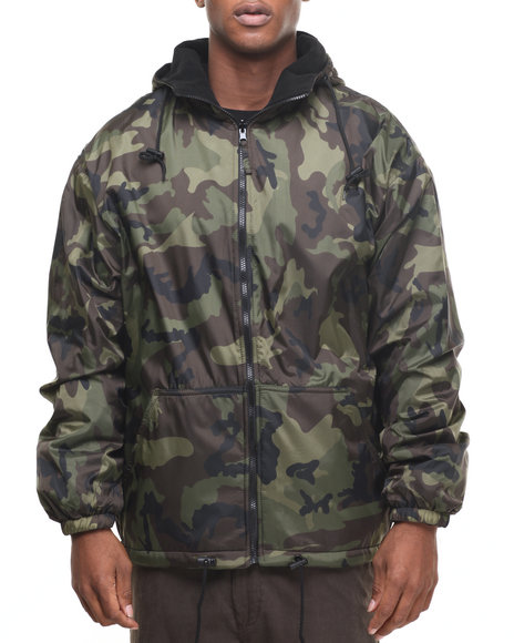 Rothco - Rothco Reversible Lined Jacket With Hood