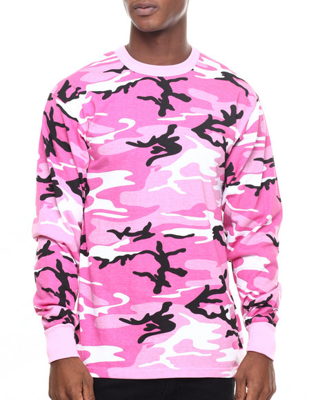 67af5a281b31c8 Buy Rothco Long Sleeve Camo T-Shirt Men s Shirts from Rothco. Find ...