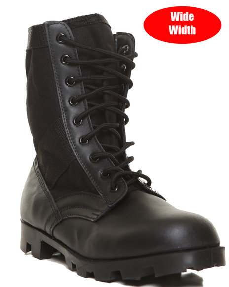 Rothco - Rothco Black G.I. Type Speedlace Jungle Boot (WIDE Width)