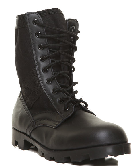Rothco - Rothco Black G.I. Type Speedlace Jungle Boot