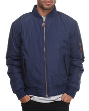 Basic Essentials - Aviator Flight Jacket-1957661