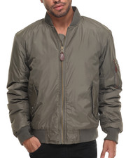 Basic Essentials - Aviator Flight Jacket-1957667