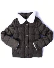 Heavy Coats - SHERPA COLLAR BUBBLE JACKET (7-16)