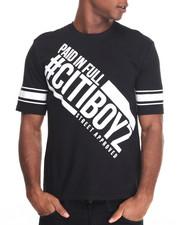 Shirts - Citi Boyz Paid In Full High - Density Printed S/S Tee