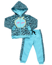 The Winter Faves Shop - 2 PC ANIMAL PRINT JOGGER SET (4-6X)