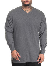Basic Essentials - Lightweight L/S V-Neck Thermal (B&T)-1986815