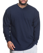 Basic Essentials - Lightweight L/S V-Neck Thermal (B+T)-1988095