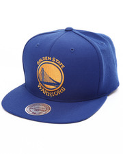 Mitchell & Ness - Golden State Warriors Wool Solid Snapback Cap-1993064