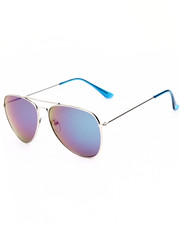 Accessories - Silver Sky Revo Aviator Sunglasses
