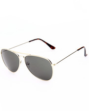 Accessories - Futuristic Glam Aviator Sunglasses