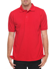 Basic Essentials - Basic Solid Pique S/S Polo-2009376