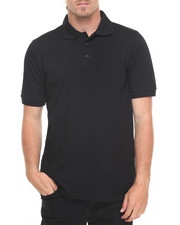 Basic Essentials - Basic Solid Pique S/S Polo-2009371
