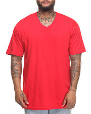 Basic Essentials - Basic V - Neck S/S Tee (B&T)-2010020