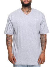 Basic Essentials - Basic V - Neck S/S Tee (B&T)-2010030